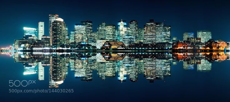Boston Skyline 2016 by d1224m
