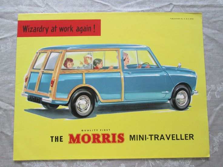 Morris Mini Traveller 1962 Excellent Condition See Enlarged Pics (NO2)