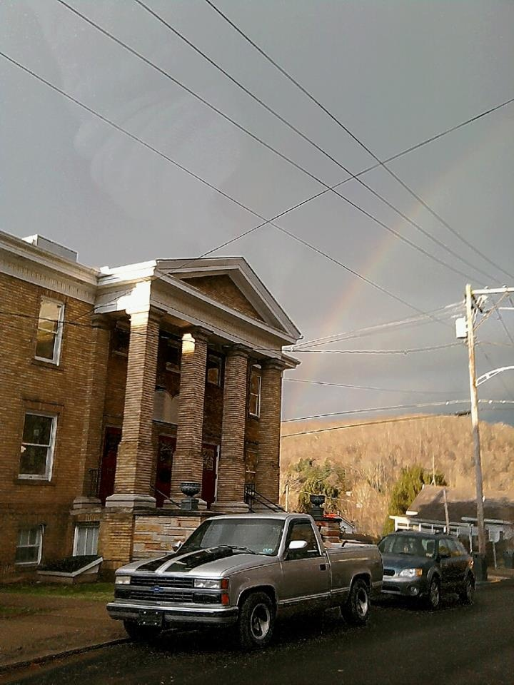 The church where our ceremony will be held. Christ Church United Methodist in Sutton, WV