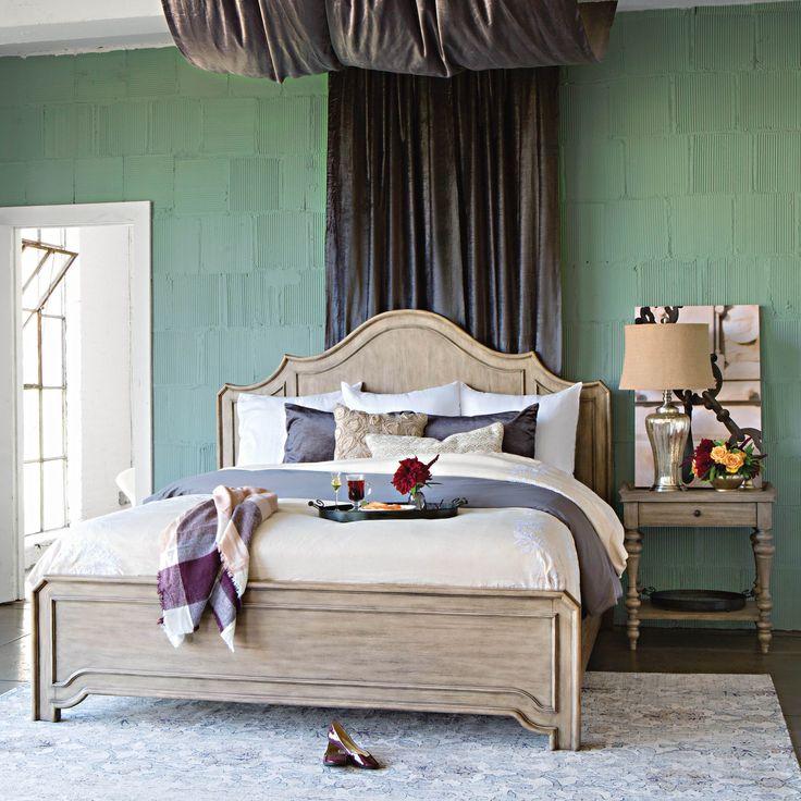 Caira Queen Panel Bed 86 best Bedrooms