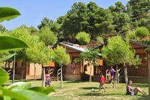 Camping Bungalows Montblanc Park, Montblanc, Tarragona, Catalunya, Costa Daurada