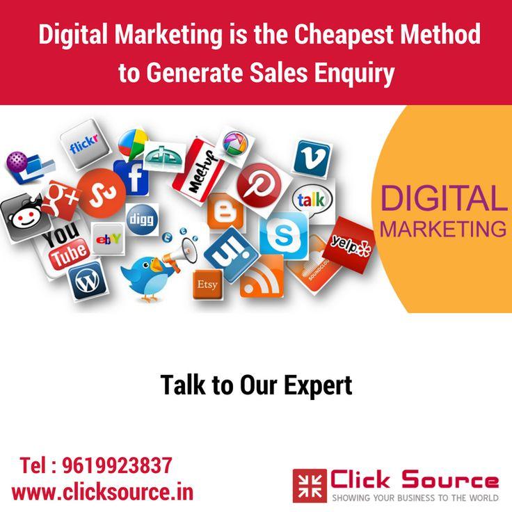 #Digital_Marketing #Cheapest#Method #Sales #Enquiry #Click_Source @Navi Mumbai...