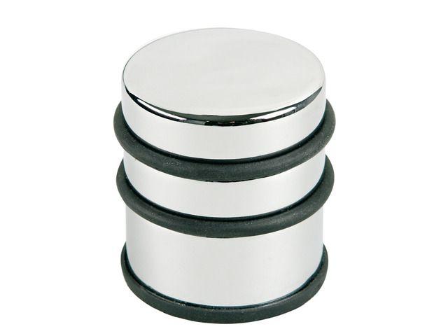 Opritor metalic, pentru usa, rotund, cu inel de cauciuc, ALCO Design. Doua dimensiuni ! ‼️ #opritorusa #opritormetalic #equipmagro #Alco
