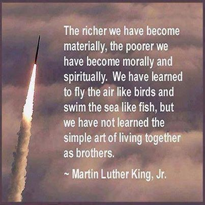 I SO WISH THIS FOR AMERICA. Martin Luther King Quotes 10
