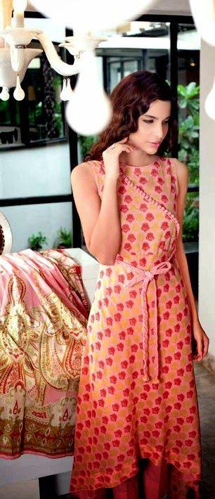 Angarkha Dresses | Why Angarkha / Angrakha is Most important Pakistani fashion in 2014 - She9 | Change the Life Style