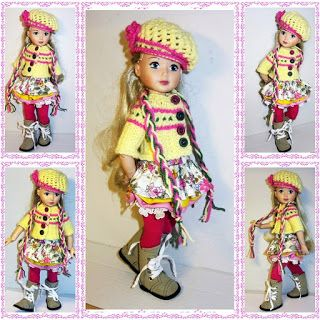 OOAK doll clothes: My Zapf Jolina ballerina doll first outfit