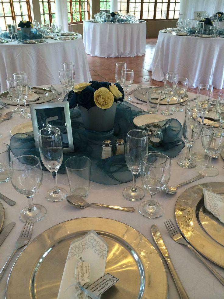 Table Settings for Functions @ Three Oaks Venue in Centurion www.threeoaks.co.za