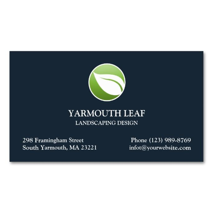 1976 best gardener business cards images on pinterest business lawn care leaf logo business card reheart Image collections