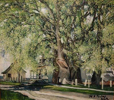 Rang du Grand St-Jacques à St-Barthélémy (c.1922) - Marc-Aurèle Fortin