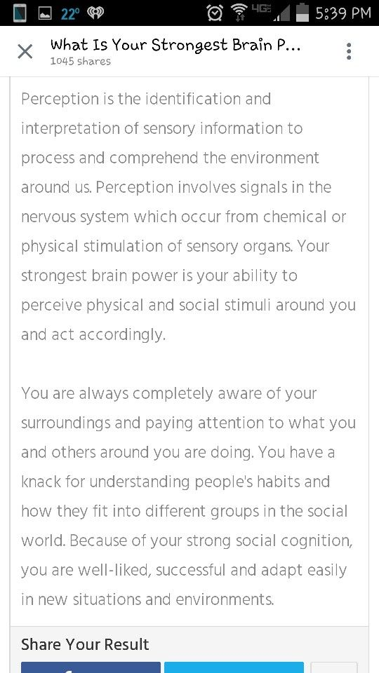 Strongest brain power