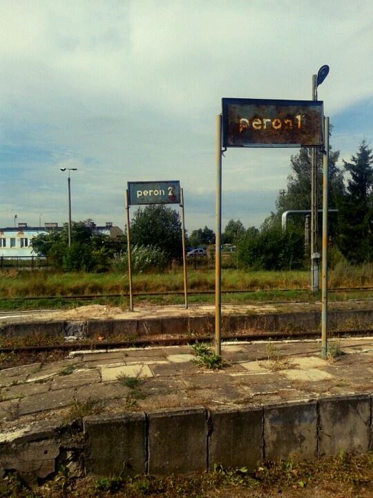 stacja kolejowa Dobre Miasto