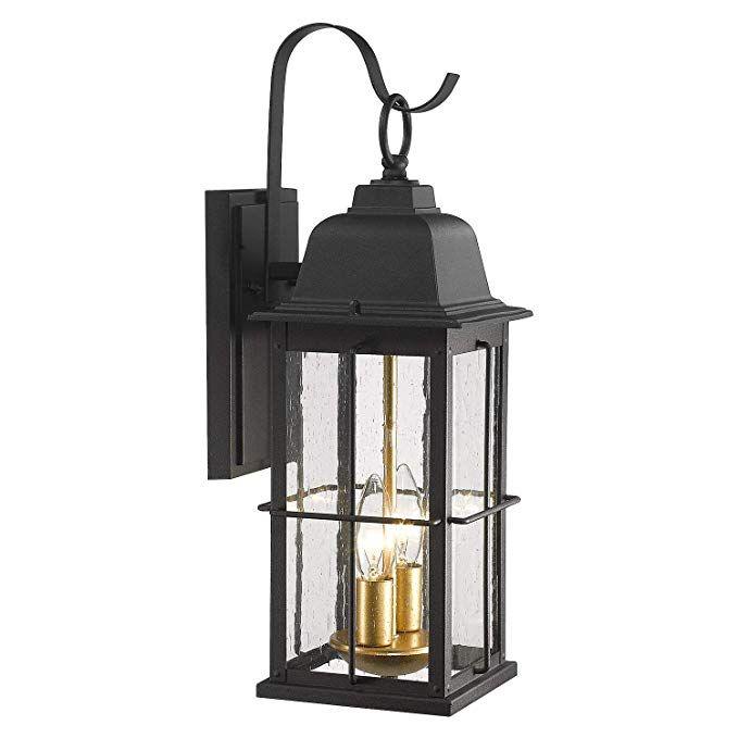 Amazon Com Zeyu 1 Light Outdoor Wall Sconce Lantern 14 Inch