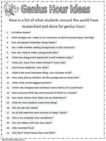 68 best Personalized Learning Ideas images on Pinterest Learning - example of project proposal used