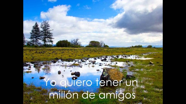 Un millon de amigos - Roberto Carlos (Con letra y audio)