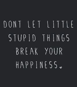 Little stupid things