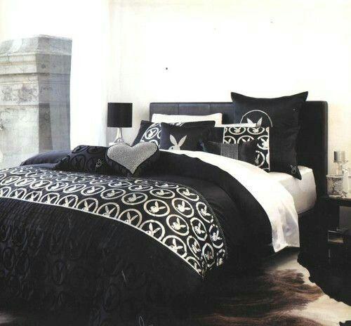Men Bedroom, Bedroom Sets, Playboy Bunny, Playboy Playmates, Queen Quilt,  Beautiful Bedrooms, Dream Rooms, Bedroom Designs, Big Daddy