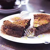 Van chocoladetaart kun je nooit genoeg hebben! (ik moet t alleen niet te vaak eten... :-) )