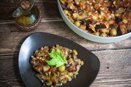 Капоната - веганский рецепт | vegelicacy.com - вегетарианские рецепты