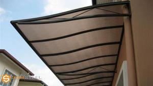 rangka kanopi jendela baja ringan project rumah minimalis dan