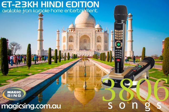 Hindi Edition Magic Sing Karaoke System ET-23KH