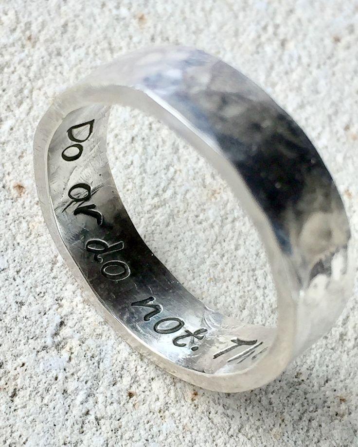Star Wars Jewelry, Star Wars Ring, Yoda Ring, Jedi Ring, Inspire