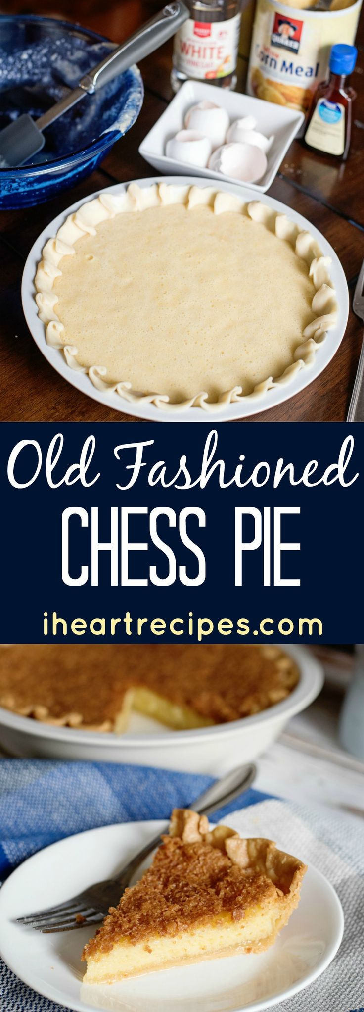 """How to make an old fashioned chess pie, not to be confused with buttermilk pie - which is very common! I couldn't tell you how many times people ask me"""" Rosie- is buttermilk pie & chess pie the same thing?!"""" I actually get questioned that several times a month. Well the answer is no. Buttermilk pie is not the same as chess pie. I shared my recipe for old fashioned buttermilk pie a few years ago, and now I'm going to show you how to make an old fashioned chess pie! Now, I..."""