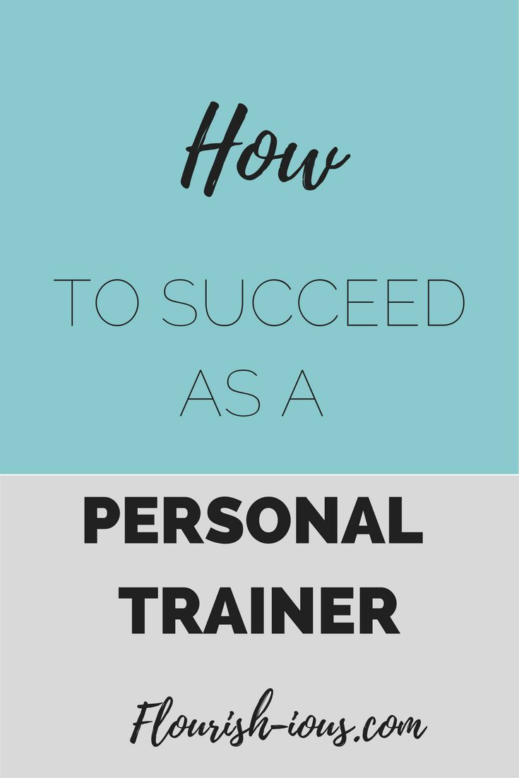 Becoming a personal trainer is the easy part. Succeeding as a personal trainer is the hard party. Use my business tips that helped me become a successful personal trainer.