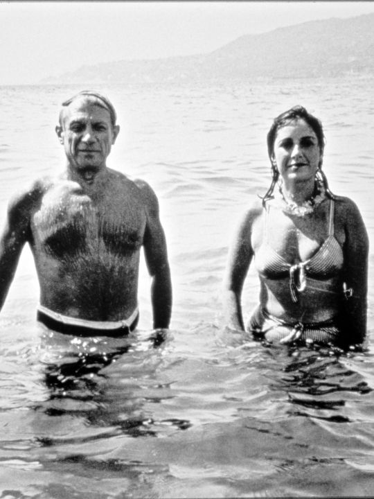 Picasso and Dora Maar at the Sea, 1937, Collection Roland ...