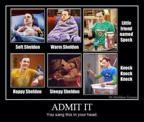For my friend Gabby Who is in Love with the Big Bang Theory...