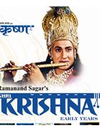 "Shri Krishna was produced by Ramanand Sagar, Subhash Sagar and Prem Sagar under the banner of ""Sagar Enterprises"" and directed by Ramanand Sagar, Anand Sagar and Moti Sagar. The role of young Krishna was played by Swapnil Joshi and grown up Krishna was played by Sarvadaman D. Banerjee. Set of 55 DVDs and 222 Episodes. Audio in Hindi with English Subtitles."