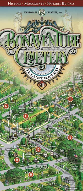 Maps - Bonaventure Historical Society... cemetery in savannah ga