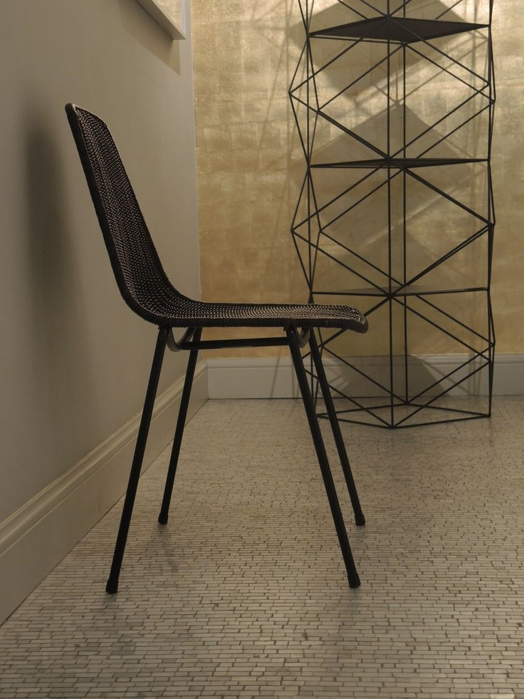 Hotel Julien - Antwerp  Basket chair dark grey from designer Gian Franco Legler for Feelgood Designs