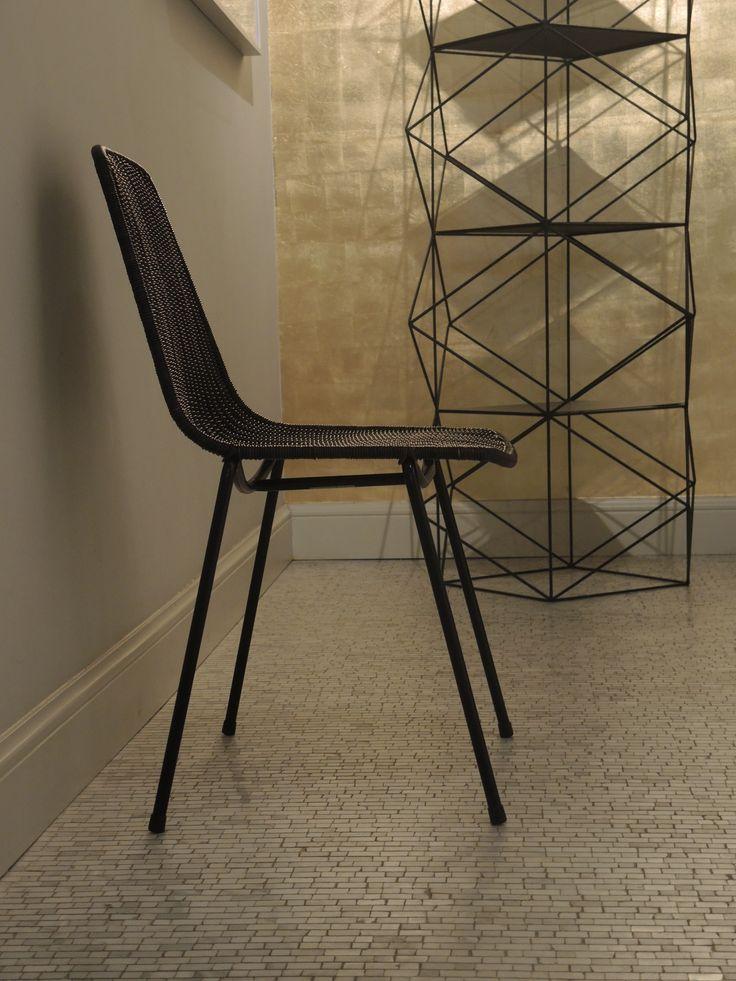 Hotel Julien - Antwerp  Basket chair dark grey from designer Gian Franco Legler for Feelgood Designs