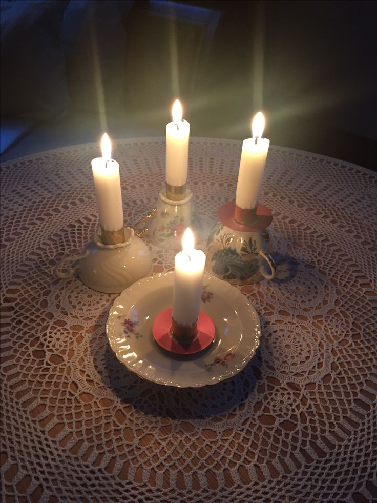 Candleholders ljusstake DIY