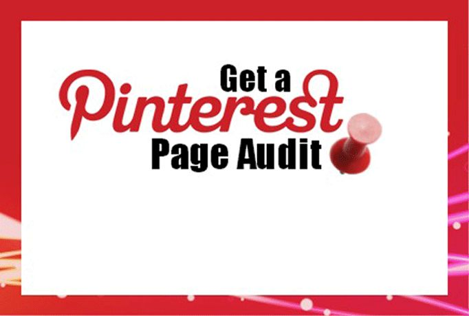 I'll do a Pinterest business page audit for $5, on fiverr.com  #pinterest #socialmedia #promo