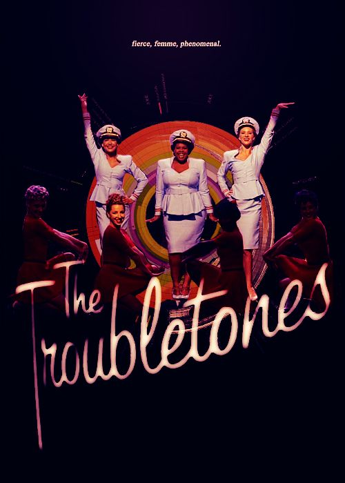 Candyman by the Troubletones: Santana, Mercedes and Brittany