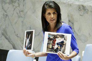 """Nikki Haley rips Russia for Syrian gas attack ! """"Nikki Haley rips Russia for Syrian gas attack"""" DETAYLAR İÇERDE https://www.oderece.net/nikki-haley-rips-russia-for-syrian-gas-attack/"""