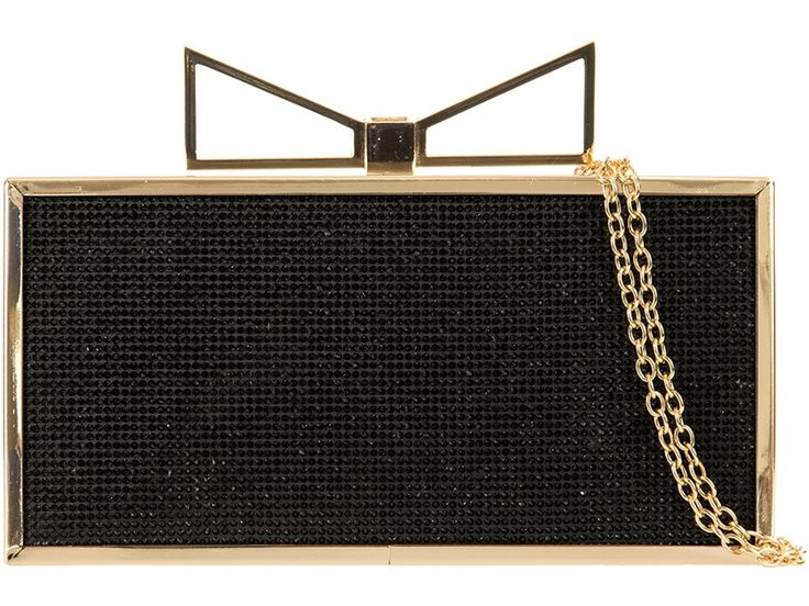 """""""Charlie"""" will make you sparkle at any Christmas party or evening out! Really cute little box clutch evening bag. Go and get yourself one (in gold or silver too!) from www.borsetta.london xx Hols xx"""