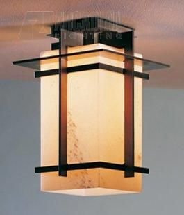 Minor Details HOME: Hubbardton Forge 356005F Tourou 13W Fluorescent Transitional Outdoor Flush Mount Ceiling Light HF-356005F
