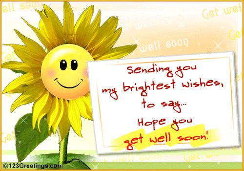 Get Well | Get Well Soon' Message.