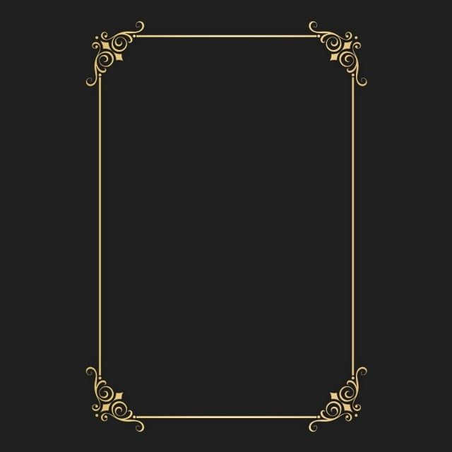 Perfect A4 Size Certificate Gold Border Png File Plus Psd Raw File You Can Edit Very Easy Psd Border Png Transparent Clipart Image And Psd File For Free Down Gold Clipart