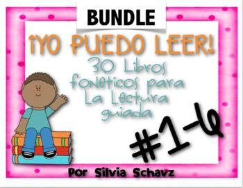 Este paquete gigante YO PUEDO LEER! - Libros foneticos para la lectura guiada está compuesto de 30 cuentos fonéticos originales diseñados para ser utilizados en grupos homogéneos durante la lectura guiada en español.