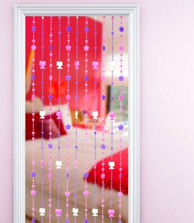 Bedroom door beads