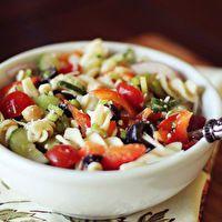 Loaded Pasta Salad by Dashing Dish