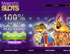 #MajesticSlotsSouthAfrica – R6,000 Free - Online Casinos Online  South Africans can get up to R6,000 free when joining #MajesticSlots #onlinecasino. Enjoy top notch RTG casino games, incredible bonuses and huge #Slots #Jackpots on your PC or via your mobile phone