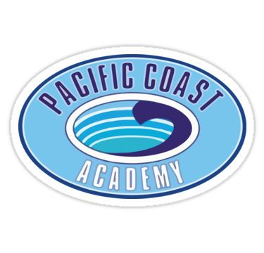 PCA Pacific Coast Academy Zoey 101 Stickers