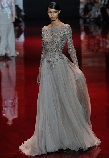 Elie Saab  This is the reason Elie Saab is the man Hollywood goes to when it comes to red carpet dressing - sparkle, elegance and subtlety.