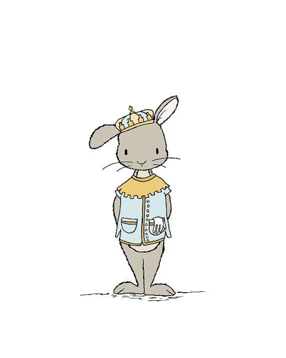 первый принц кролик в картинках как правило