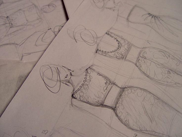 #tango #dress #sketches by #ILLANGO