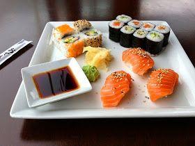 sencillo sushi hecho en casa